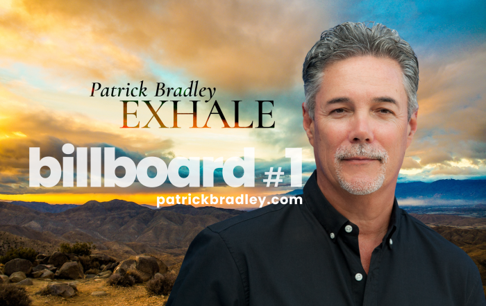 """""""Patrick Bradley and his new single """"Exhale"""" hit #1 on Billboard"""