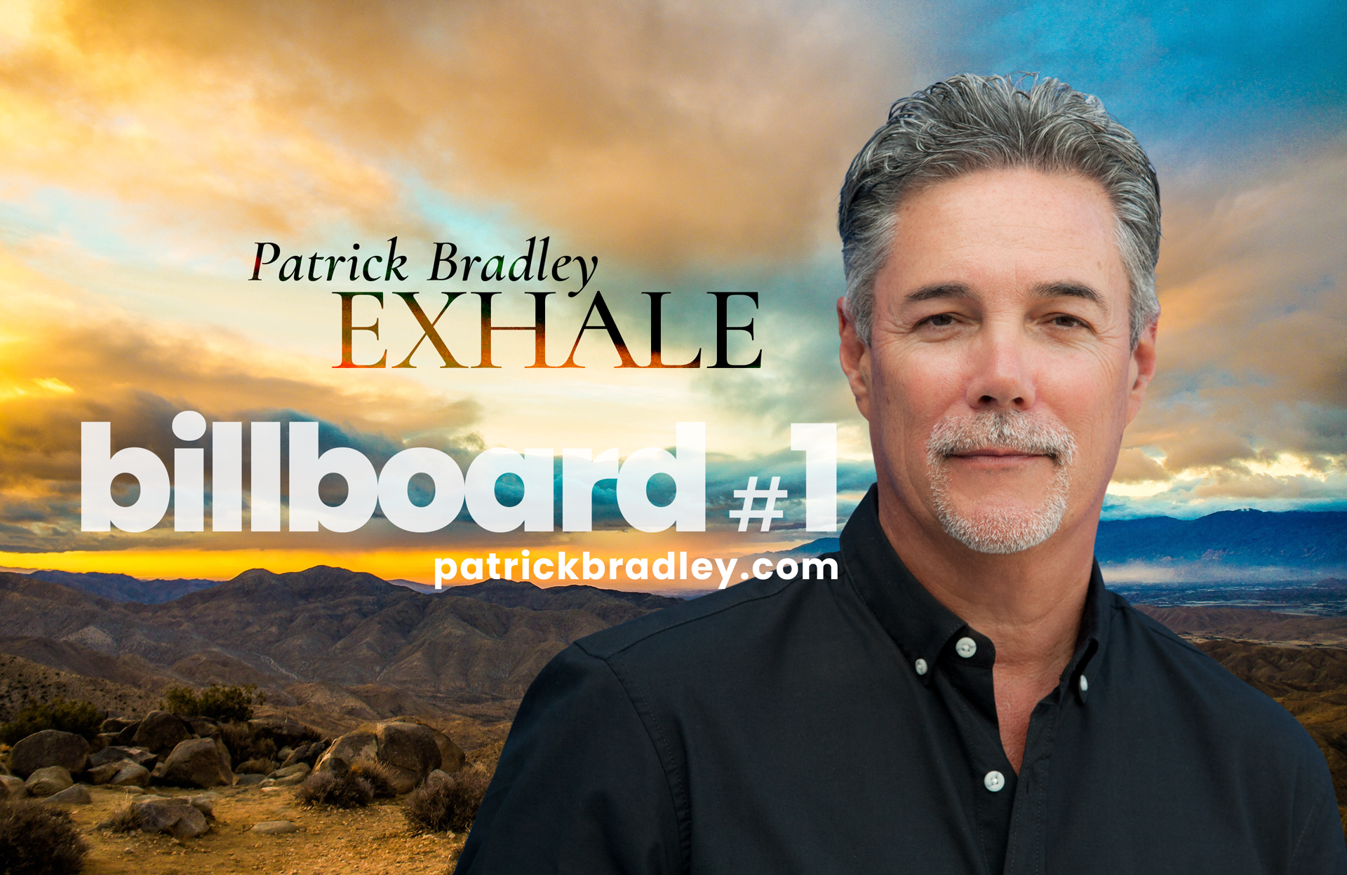 """Patrick Bradley and his new single ""Exhale"" hit #1 on Billboard"